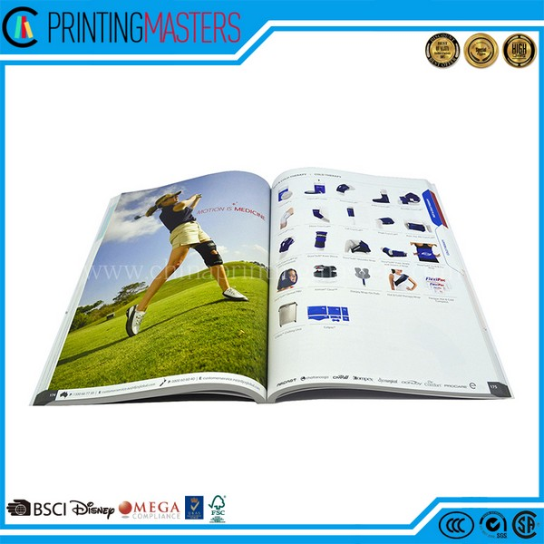 Custom High Quality Catalog Printing In China Factory