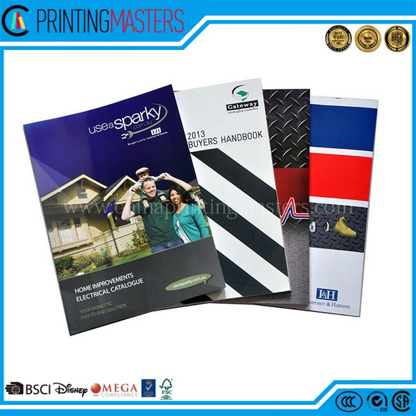 High Quality Commercial Advertising Catalo1gue Printing Factory Price