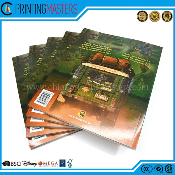 High Quality Gloss Lamination OEM Colorful Book Printing