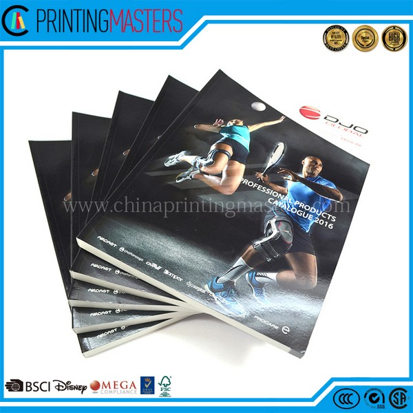 2017 New Products Soft Cover Book Printing In China