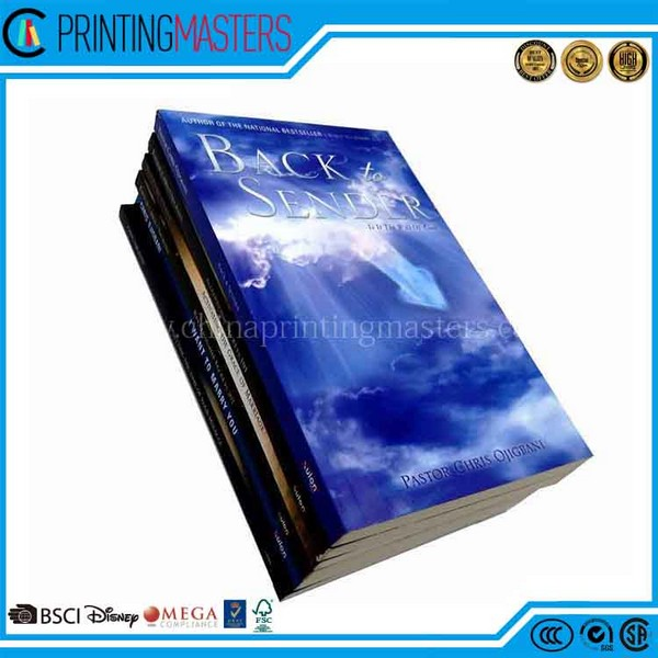 Professional Printing Service High Quality Book Printing China