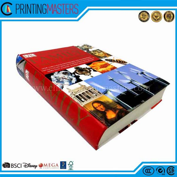China Top Ranking Reputed Hardcover Book Printer
