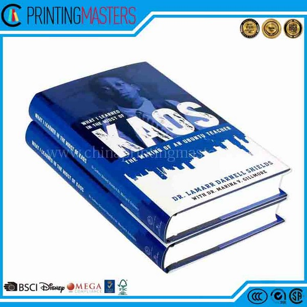 Cheap Custom Experienced Hard Cover Book Printing