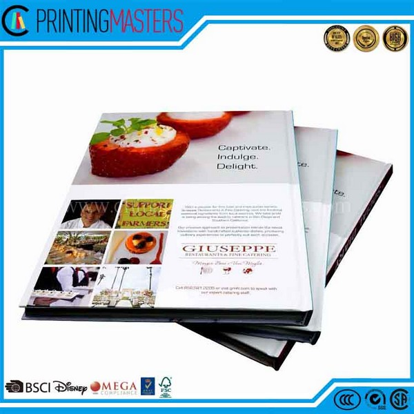 China Trusted Supplier Pantone Color Hard Cover Book
