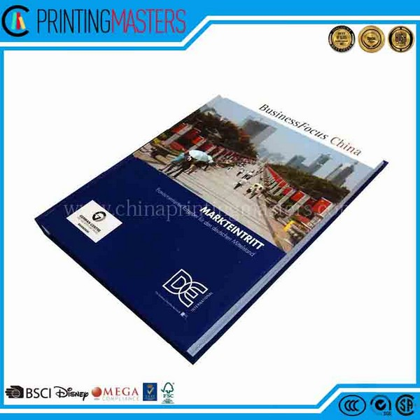 Professional Company Print Cheap Commercial Ad Book