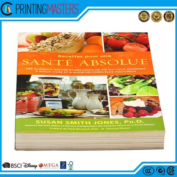 Cheap Offset Printed High Quality Cook Book Printing
