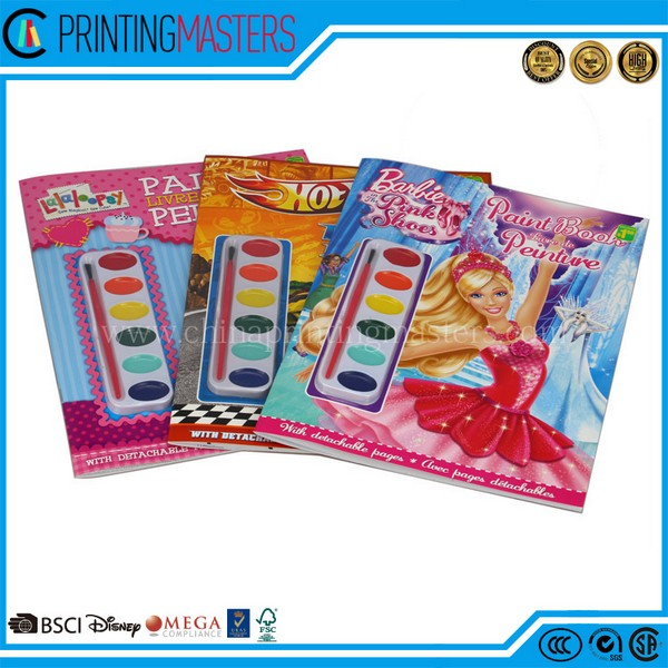 Kid Coloring Book Coloring Book With Waterproof