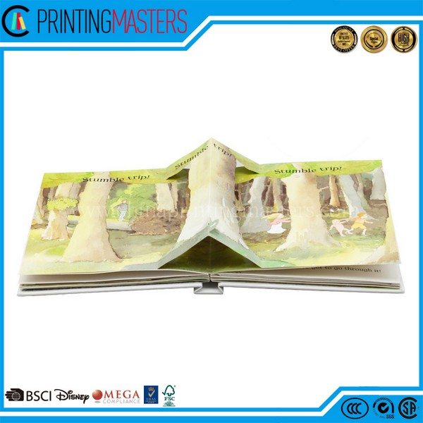 China Factory Custom Child Pop Up Book Printing