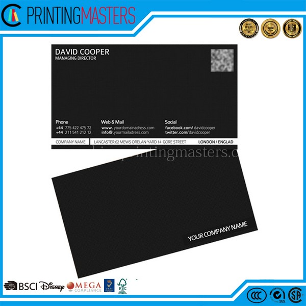 Simple Design High Quality Business Card Printing