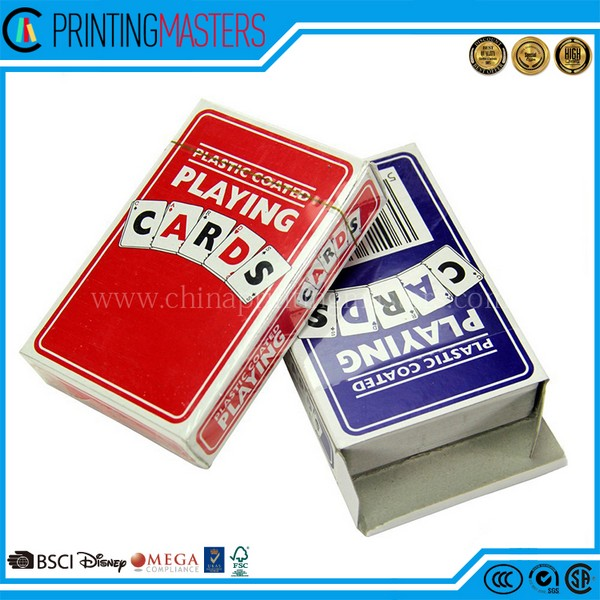 China Factory Print Cheap Custom Design Paper Poker