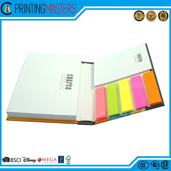 China Printing Service Cheap Price Sticky Note Printing