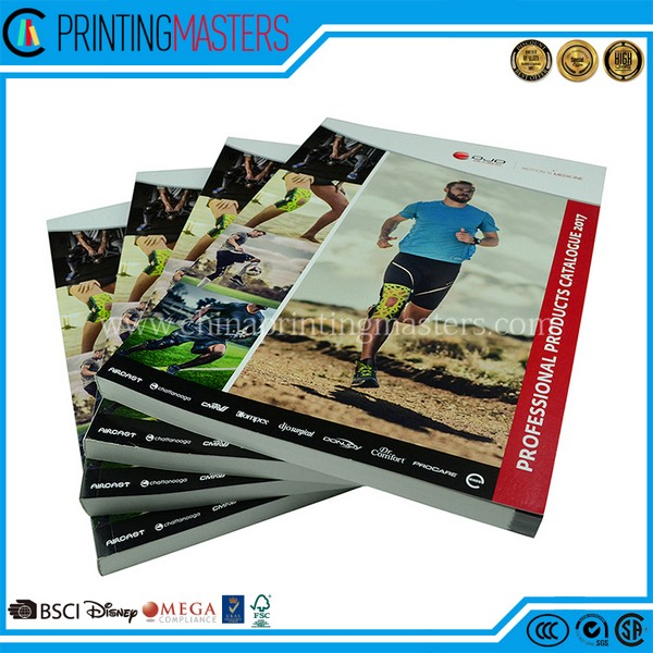 New Design Custom Perfect Binding Catalog Printing With Sewn