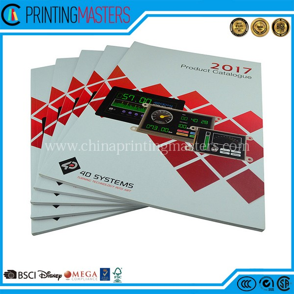 China Printing Factory Print Catalogue Perfect Binding
