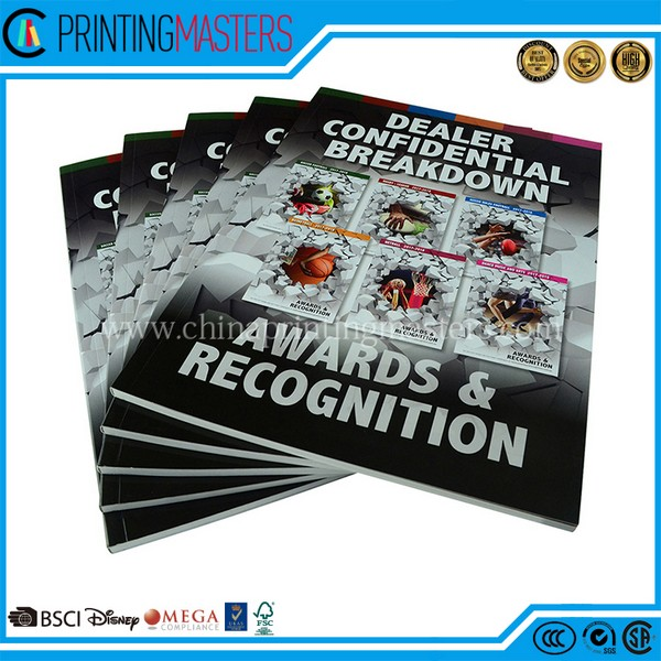 High Quality Catalogue Printing With Gloss Lamination