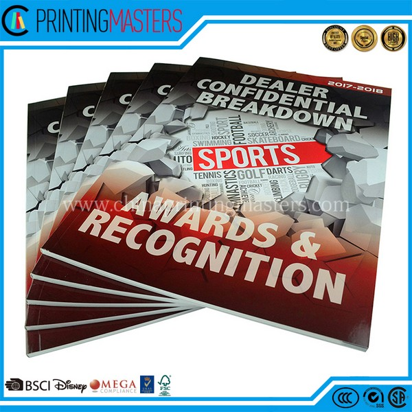 2018 China Printing Awards Catalogue With Cheap Price