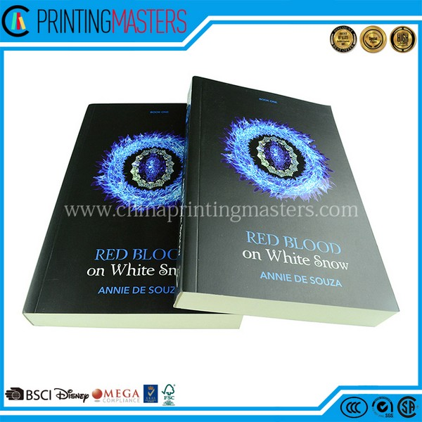 Customized High Quality Book Printing With UV Spot