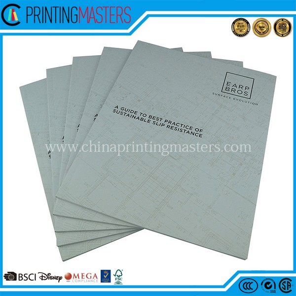 Cheap Custom High Quality A4 Catalog Printing In China