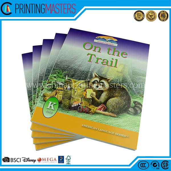 Cheap Price High Quality Children Book Printing China
