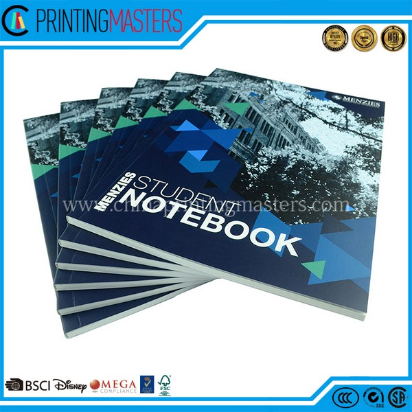 Matt Lamination Soft Cover Notebook Printing In China