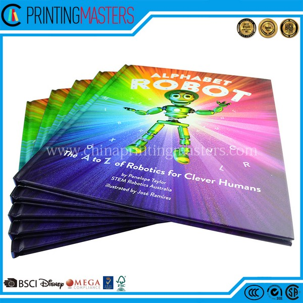 China Printing Manufacturer Printed UV Hardcover Children Book