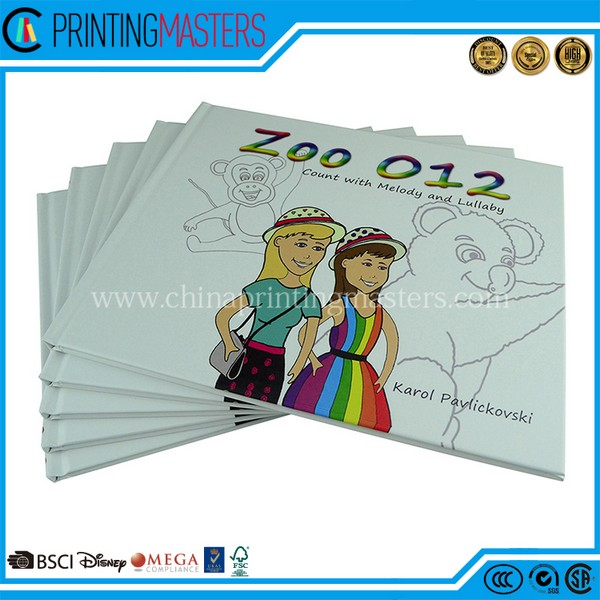 High Quality Hardcover Kid Book Printing With Cheap Price